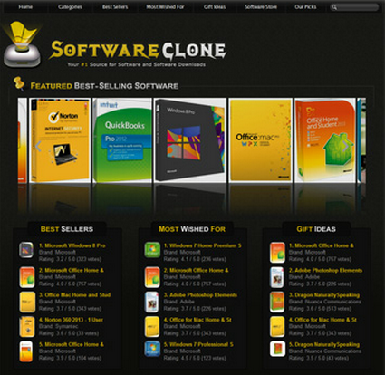 software clone store